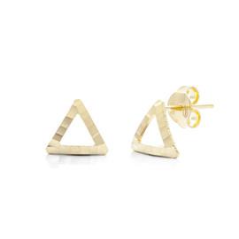 """Zlaté náušnice """"trojúhelníky"""""""
