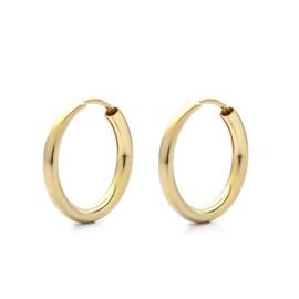 Zlaté kruhy 15 mm