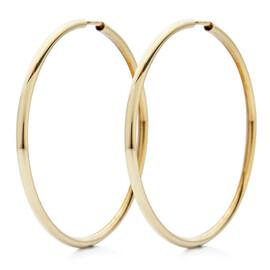Zlaté kruhy 40 mm