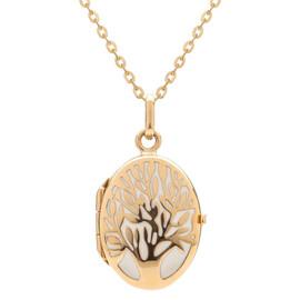 Zlatý medailon strom života
