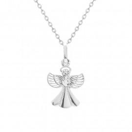 Andělíček z bílého zlata