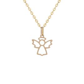 Zlatý přívěsek andělíček