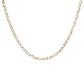 Zlatý náhrdelník bicolor