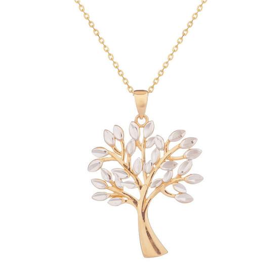 Zlatý přívěsek strom života